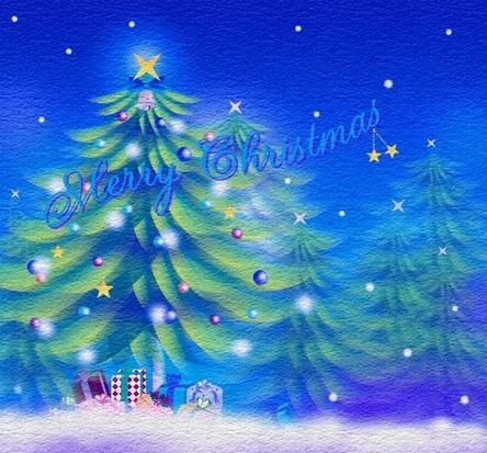 蒼いクリスマス