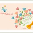 小鳥と花束