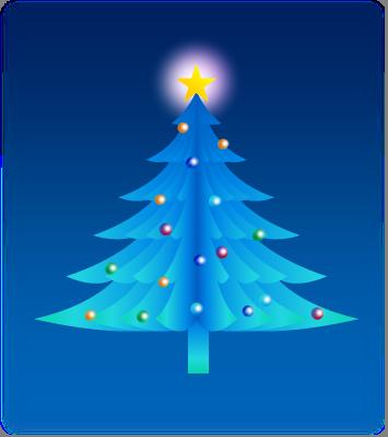 クリスマスを描こう・・・クリスマスツリー・・・